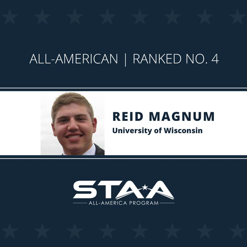 Reid Magnum Named STAA All-American