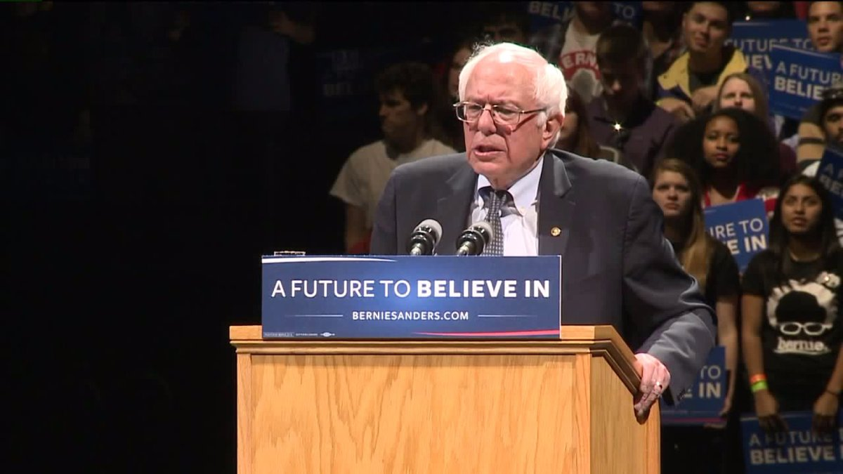 Sanders/Feingold Rally for Clinton in Madison