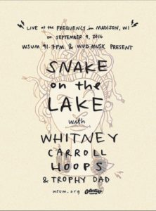 Snake on the lake online poster