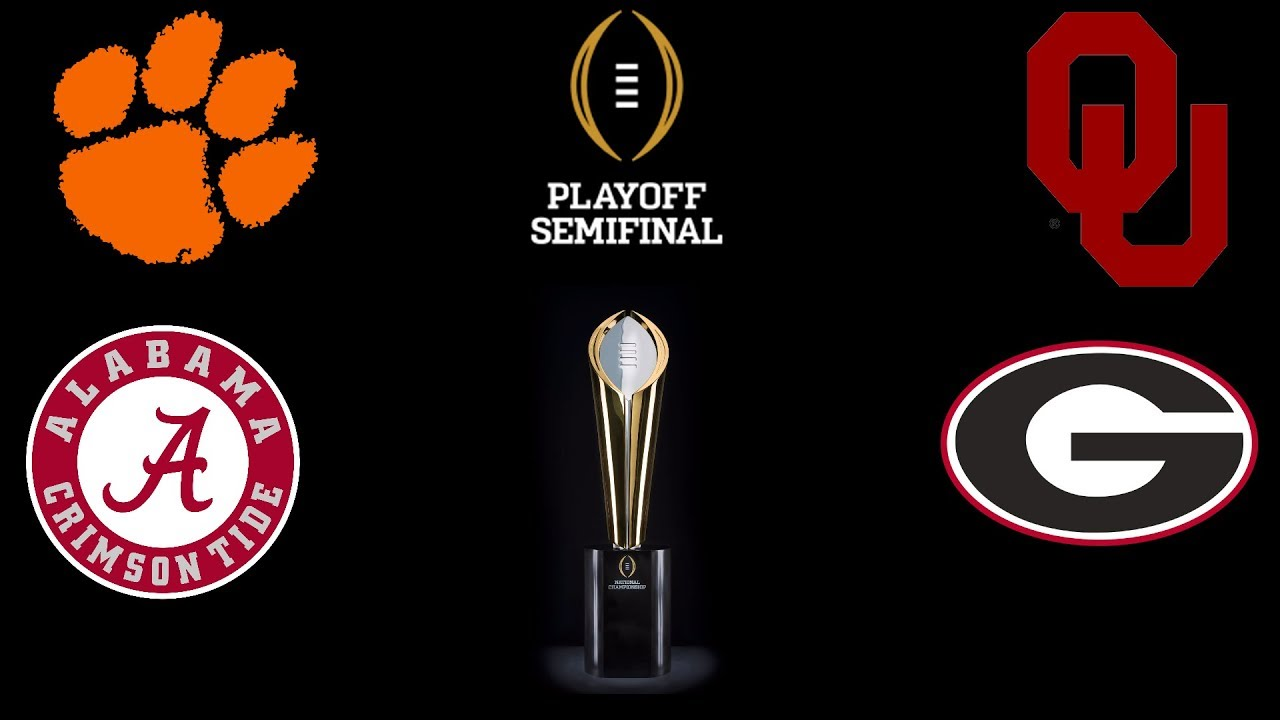 2017 College Football Playoff Teams >> Analyzing The Final Teams In The College Football Playoffs Wsum