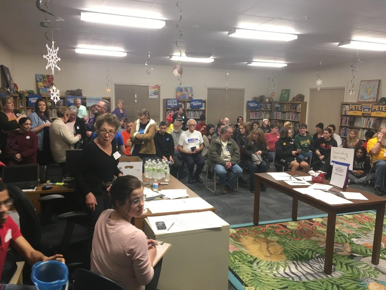 WSUM at the Iowa Caucus!